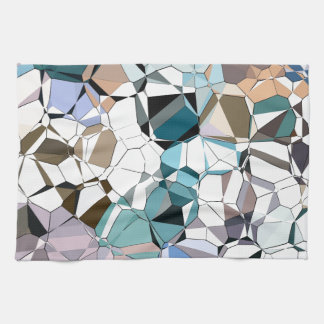 Abstract Geometric Shapes Hand Towel
