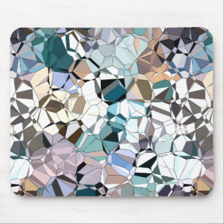 Abstract Geometric Shapes Mouse Pad