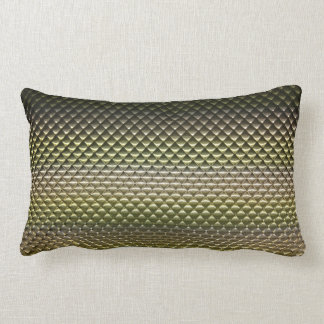 abstract geometric shapes pattern texture gradient lumbar pillow
