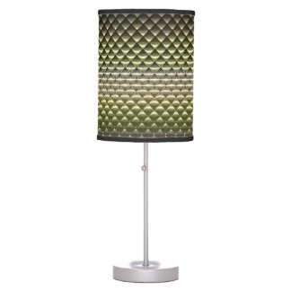 abstract geometric shapes pattern texture gradient table lamp