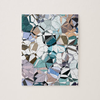 Abstract Geometric Shapes Puzzle