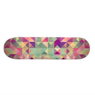 Abstract Geometric Skate Board Deck