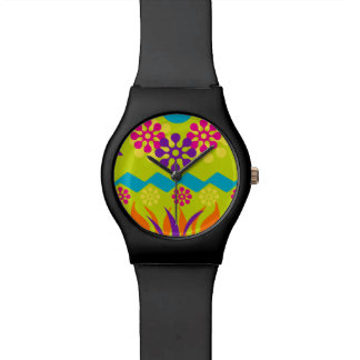 abstract geometric sporty watch
