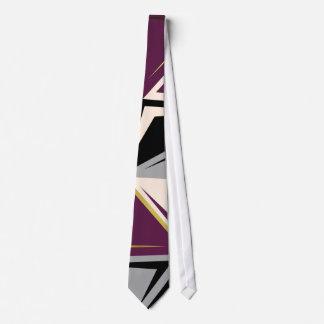 abstract geometric tie