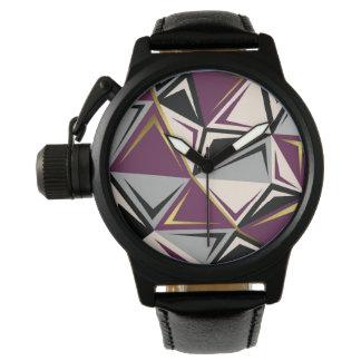 abstract geometric watch
