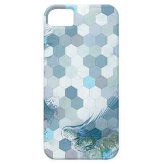 Abstract Geometric Water iPhone 5 Case