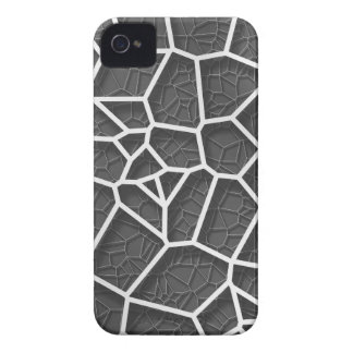 Abstract geometrical science concept voronoi low p Case-Mate iPhone 4 cases