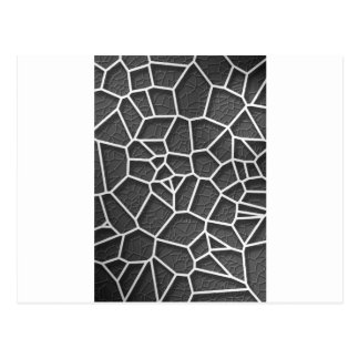 Abstract geometrical science concept voronoi low p postcard