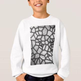 Abstract geometrical science concept voronoi low p sweatshirt