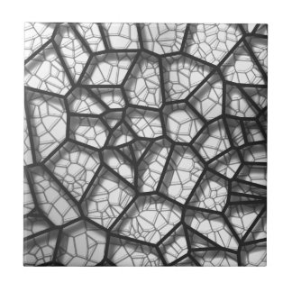 Abstract geometrical science concept voronoi low p tile
