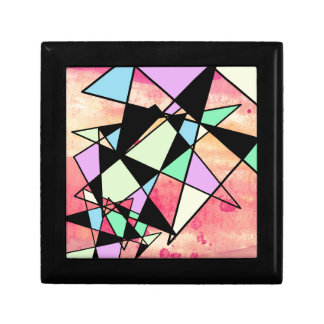 ABSTRACT GEOMETRY GIFT BOX