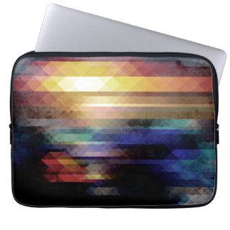 Abstract Geometry of Colors Laptop Sleeve