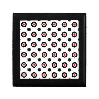 abstract geometry pattern gift box