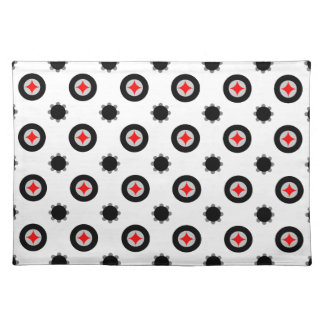 abstract geometry pattern placemat