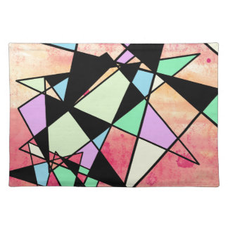 ABSTRACT GEOMETRY PLACEMAT