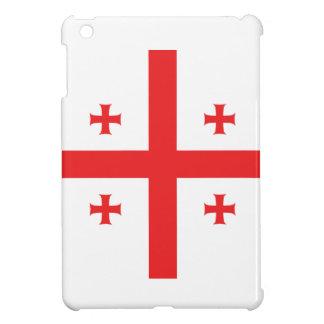 Abstract Georgia Flag, Georgian Flag iPad Mini Cover