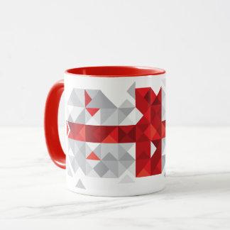 Abstract Georgia Flag, Georgian Flag Mug