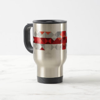 Abstract Georgia Flag, Georgian Flag Mug