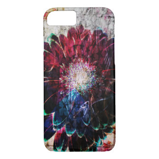Abstract Gerbera Daisy iPhone 8/7 Case