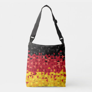 Abstract Germany Flag, German Colors Bag
