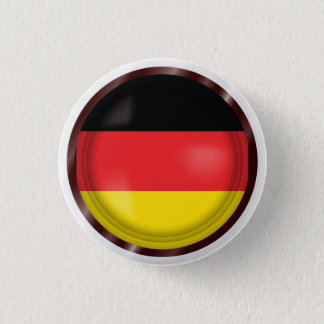 Abstract Germany Flag, German Colors Button