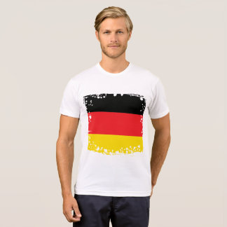 Abstract Germany Flag, German Colors, Polygon T-Shirt
