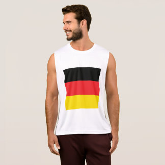 Abstract Germany Flag, German Colors, Polygon Tank Top