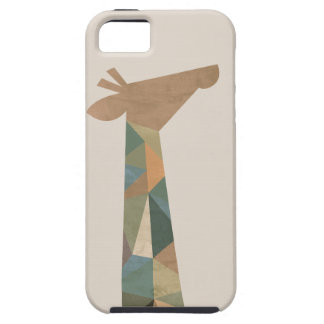 Abstract Giraffe iPhone 5 Cover