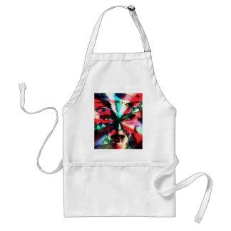 Abstract girl standard apron