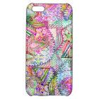 Abstract Girly Neon Rainbow Paisley Sketch Pattern iPhone 5C Cover