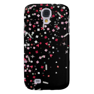 Abstract glitter pattern case