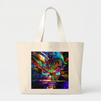 Abstract Goddess Large Tote Bag