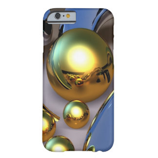 Abstract Gold Balls Barely There iPhone 6 Case