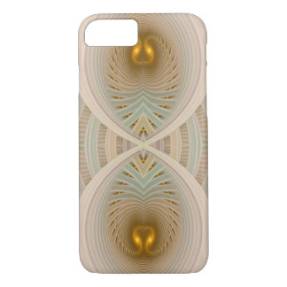 Abstract Gold Hourglass Dream Within A Dream iPhone 7 Case