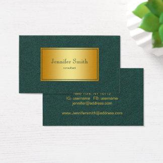 Abstract golden gradient texture. text. business card