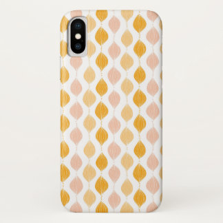 Abstract golden ogee pattern background Case-Mate iPhone case