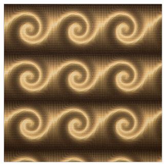 abstract golden spiral texture fabric
