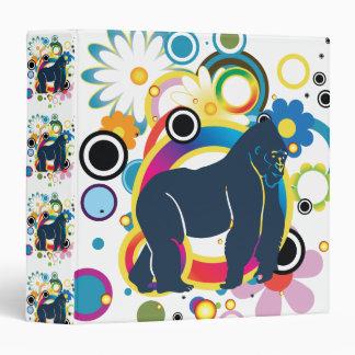Abstract Gorilla Binder