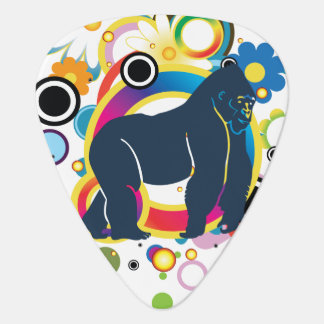 Abstract Gorilla Guitar Picks