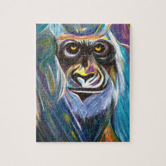 Abstract Gorilla puzzle