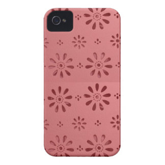 Abstract Graphic Flowers Floral Template add TEXT Case-Mate iPhone 4 Cases