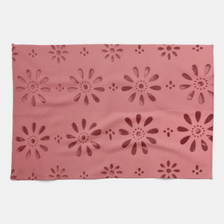 Abstract Graphic Flowers Floral Template add TEXT Towels