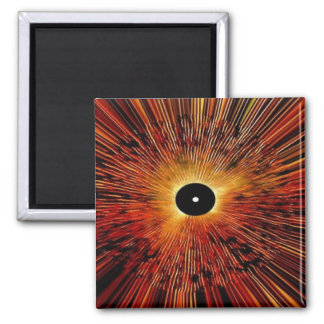Abstract Graphics Square Magnet