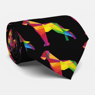 Abstract Great Dane Tie