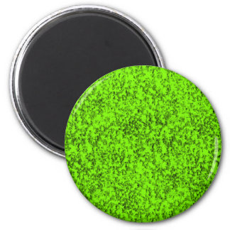 abstract green 2 inch round magnet