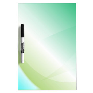 Abstract Green Background Dry Erase Whiteboard