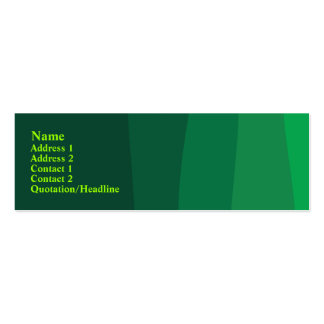 Abstract Green Business Cards