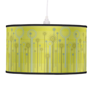 Abstract Green Garden Hanging Pendant Lamp