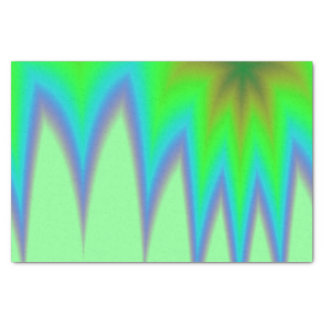 Abstract Green Grass Tissue Paper