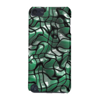 Abstract Green Jems iPod Touch (5th Generation) Case